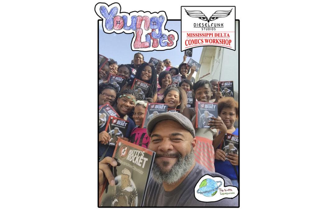 The Dieselfunk Mississippi Delta Comicbook Workshop was a BLAST!