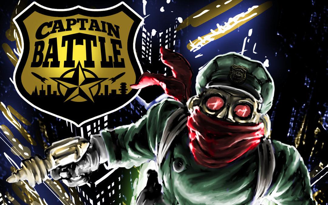 Captain Battle Dark Defender of Harlem Sector