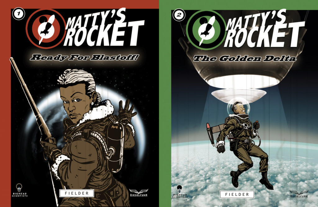 Matty's Rocket Covers -  Issues no. 1 & 2