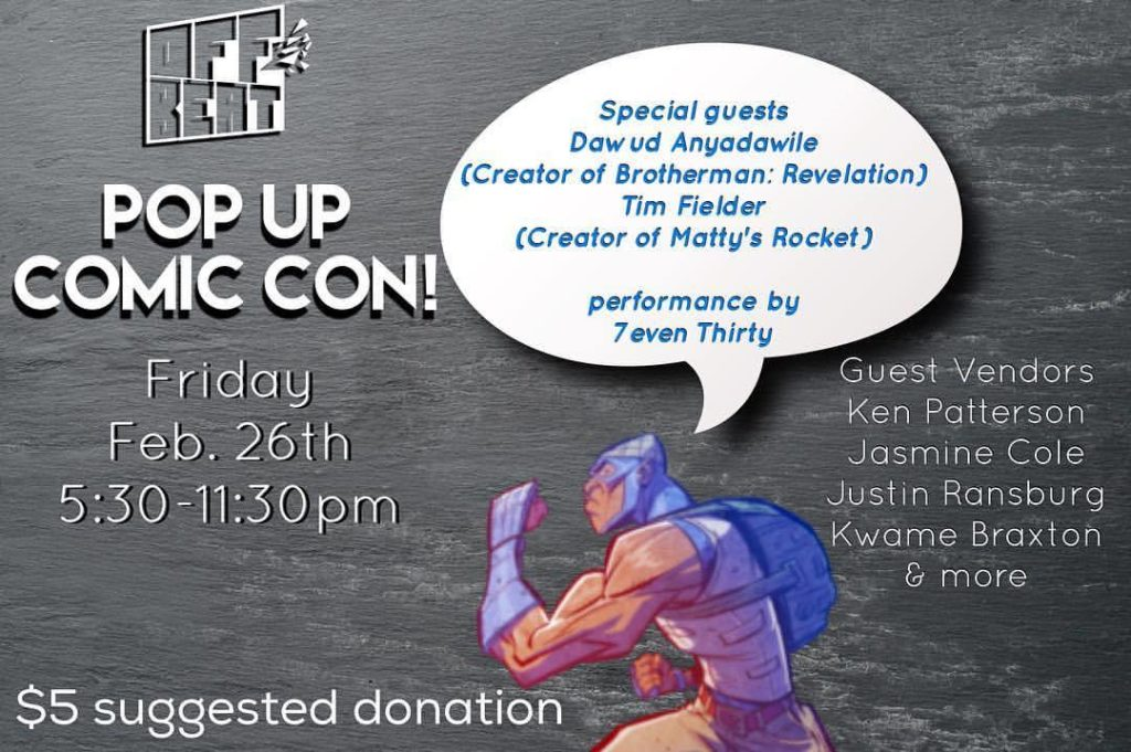 Pop Up Comic Con