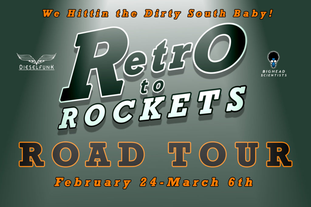 Retro to Rockets Road Tour