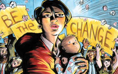 CBLDF Liberty Annual 2016 Great Heroes Be The Change!
